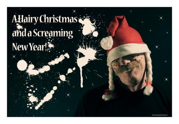 Kerstkaart Creepy