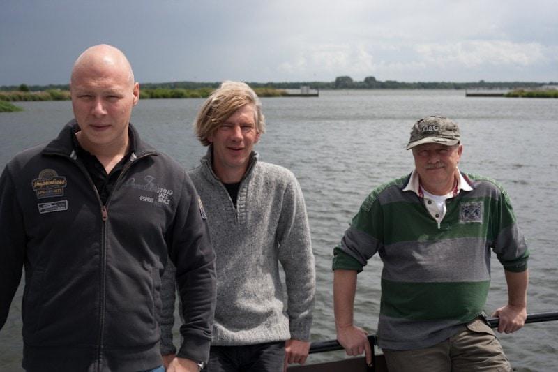 Niels, Wilfred en Herman