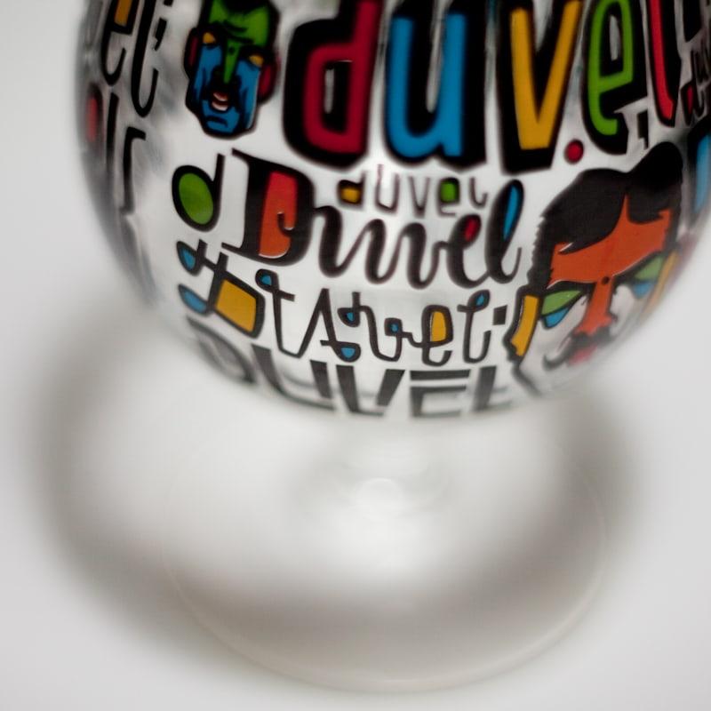 Duvels glas