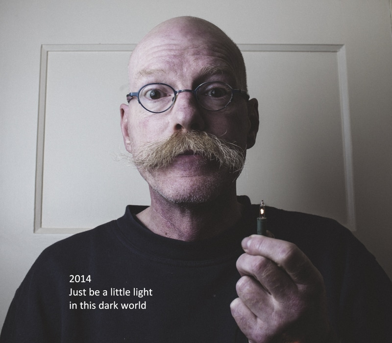 2014 Just be a little light in this dark world